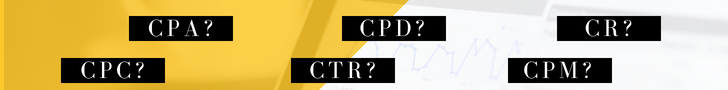 What do the acronyms CPA, CPC, CPD, CPM, CTR, CR mean in Affiliate Marketing? Our glossary will explain