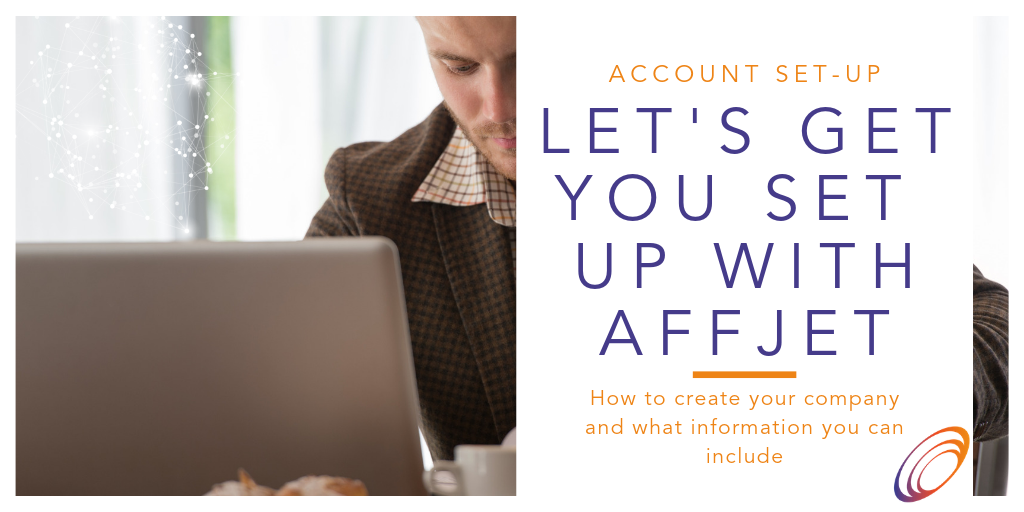 Setting up your AffJet account