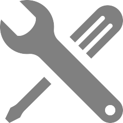 Icon of screwdriver and wrench